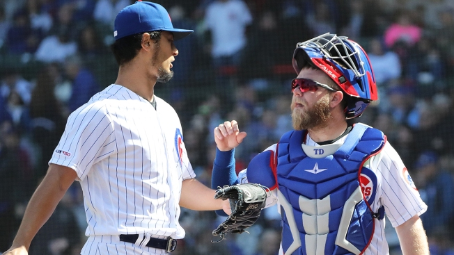 Chicago Cubs Demote Taylor Davis, Activate Victor Caratini From IL