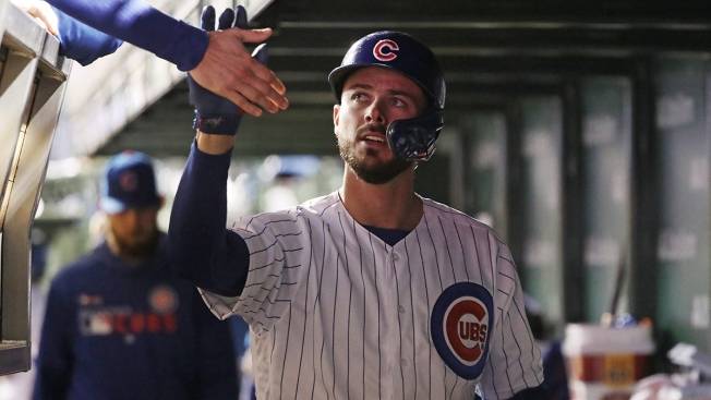 size 40 75717 06145 Kris Bryant Scratched From Cubs' Lineup Due to Knee Issue ...