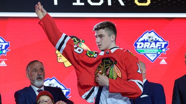 Kirby Dach, Adam Boqvist Among 37 Players Invited to Blackhawks' Development Camp