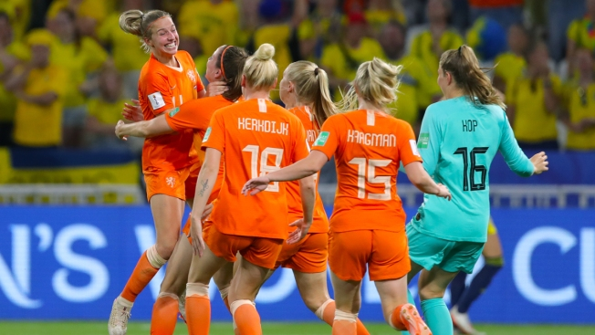 Dutch Beat Swedes to Set Up Women's World Cup Final With US