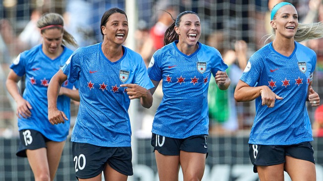 Sam Kerr Punches Red Stars' Ticket Into NWSL Title Match