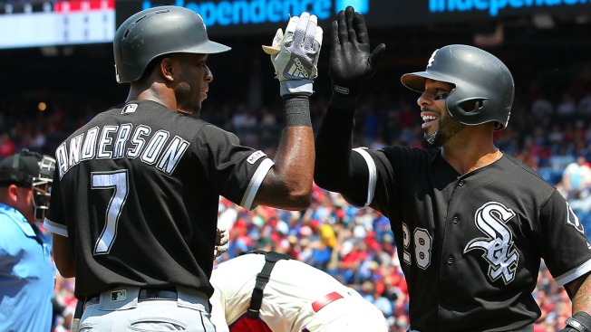 García Slam, Jiménez 3-Run Shot Lead White Sox Past Phillies