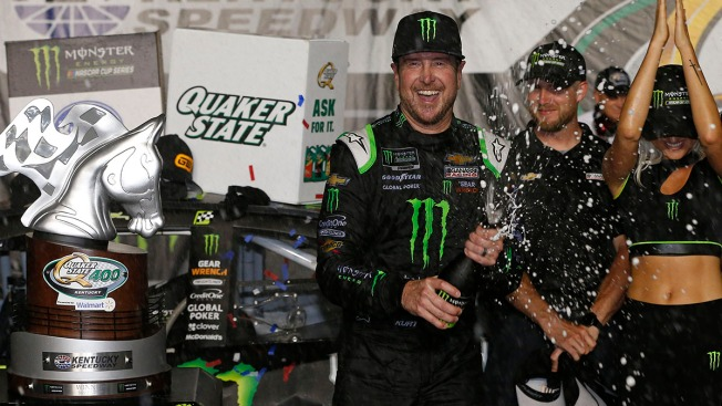 Fast Track to Victory: Kurt Busch Outduels Little Brother for Kentucky Speedway NASCAR Win