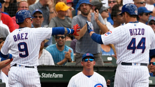 Chicago Cubs Power Past Padres on Bats of Javier Báez, Anthony Rizzo