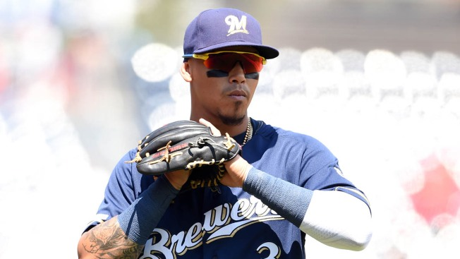Brewers' Shortstop Bolts Game vs. Cubs for Birth of Twins
