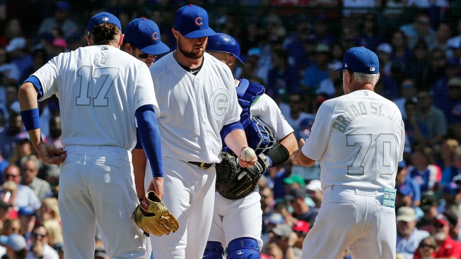 Cubs Thrashed by Nationals in Series Opener