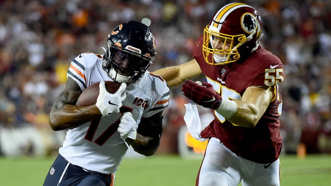 Bears Fend Off Late Comeback, Beat Redskins