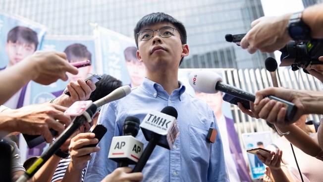 Hong Kong Activist Joshua Wong to Run for Local Office