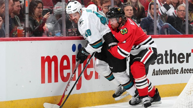 Blackhawks Lose Home Opener to Sharks