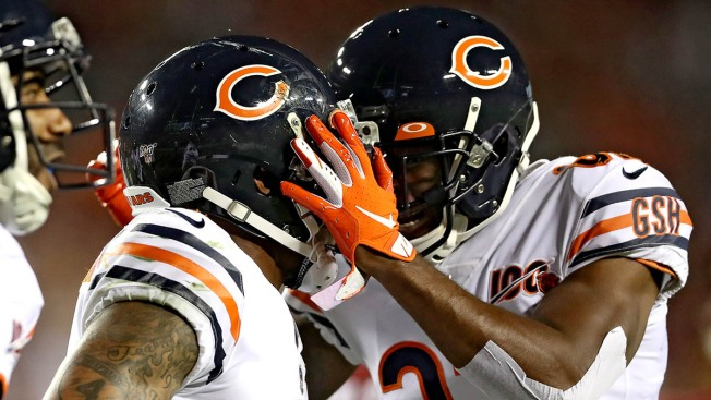 Bears Break Out Tug-of-War Celebration After Touchdown