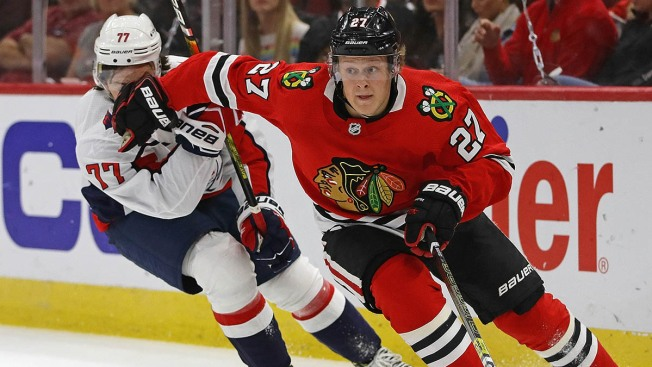 Blackhawks Recall 1st Round Pick Adam Boqvist From Rockford