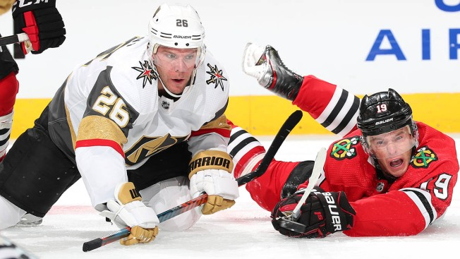 Golden Knights Beat Blackhawks in Shootout