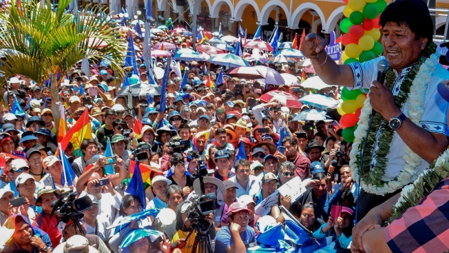 Morales Declares Victory in Bolivia Without Final Vote Count