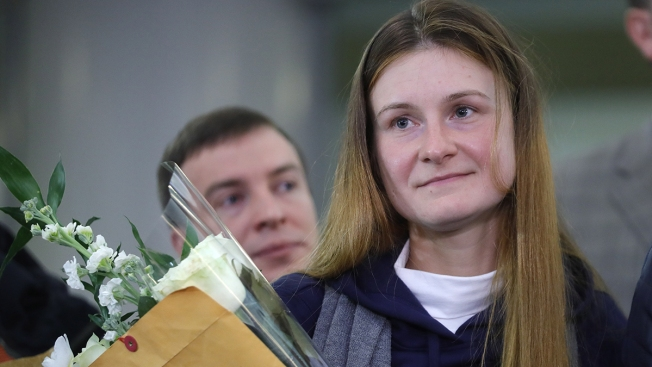 Russian Agent Butina, Who Infiltrated NRA, Returns to Moscow After US Deportation
