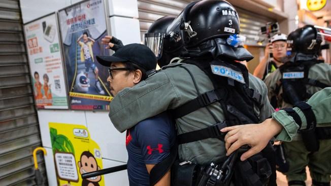 Attacker Stabs Several, Bites Man's Ear as Hong Kong Boils