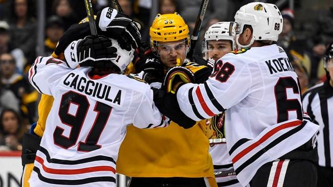 Penguins Rally, Edge Blackhawks in Shootout
