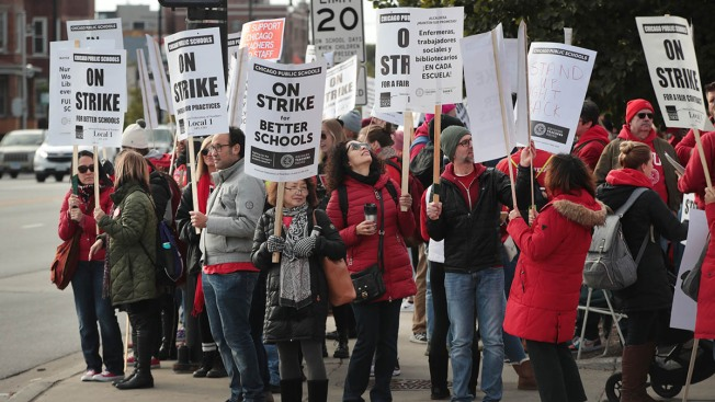 CPS Cancels Classes for 3rd Day Amid Strike