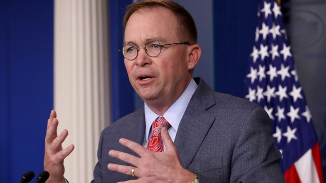 Democrats Want Mulvaney to Testify in Impeachment Probe