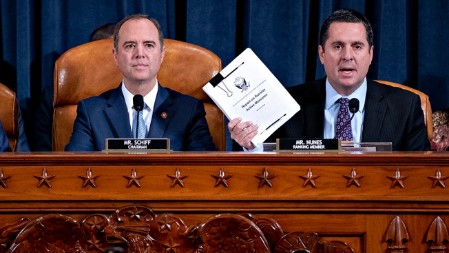 House Intelligence Committee to Vote on Impeachment Report