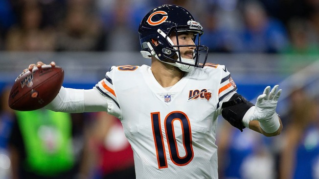 Bears Beat Lions Behind Strong Day From Mitchell Trubisky