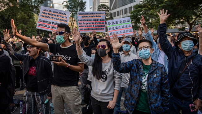 Hong Kong Elders, Youths Vow to Keep Up Pro-Democracy Fight