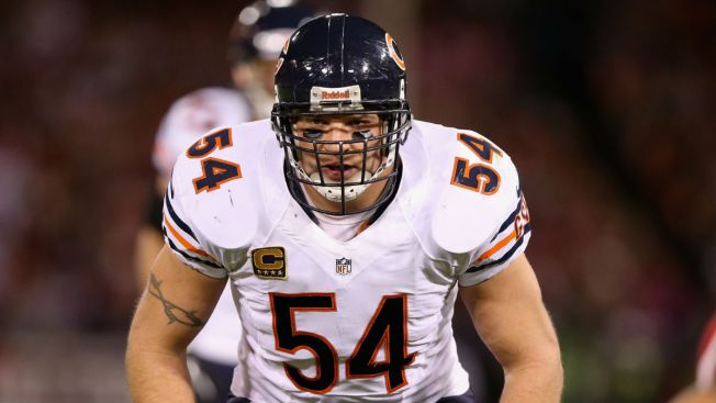 Brian Urlacher Named to Football Hall of Fame - NBC Chicago 4bd8a74e3