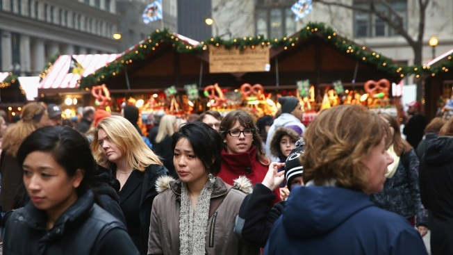 Christkindlmarket Opens Friday at Daley Plaza