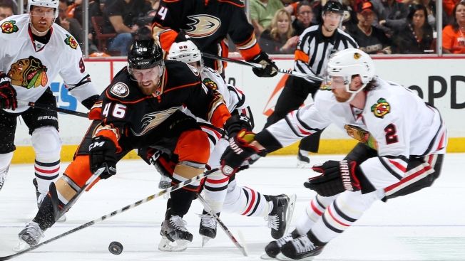 Blackhawks Fall 5-4 in Overtime, Lose Game 5 to Ducks
