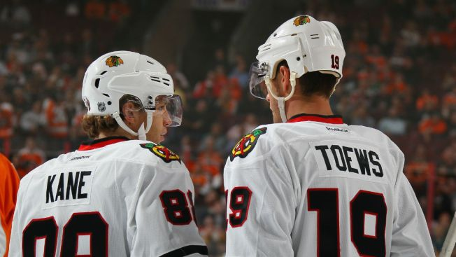 Toews, Kane Among NHL's Top-Selling Jerseys in 2017