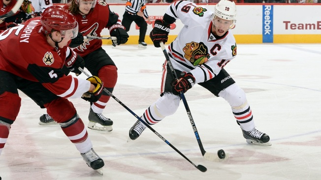 Toews Scores Twice in Return as Blackhawks Win OT Thriller