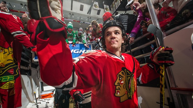 Blackhawks Announce New Jersey Numbers for 10 Players