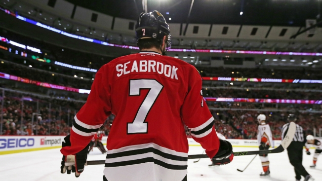 Brent Seabrook Sets New Blackhawks Franchise Record