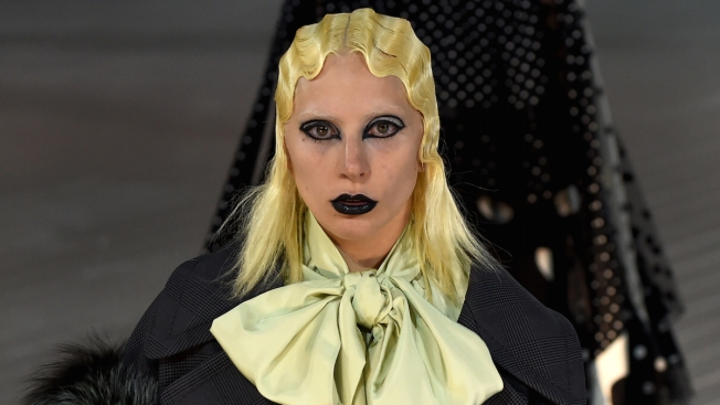 Lady Gaga Walks in Marc Jacobs Show to Close Out New York Fashion Week