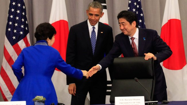 Nuclear Summit US Joins With South Korea, Japan in Bid to Deter North Korea