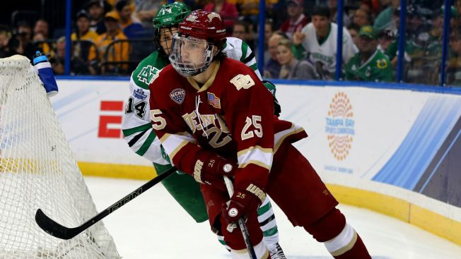 Blackhawks Prospect Blake Hillman Relishes National Title