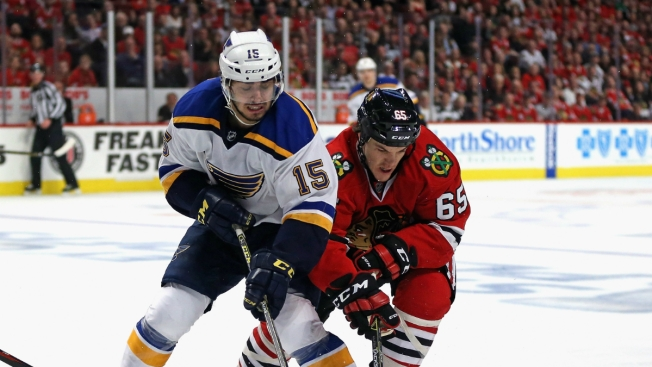 Blackhawks Drop Game 3 to Blues Sunday Afternoon
