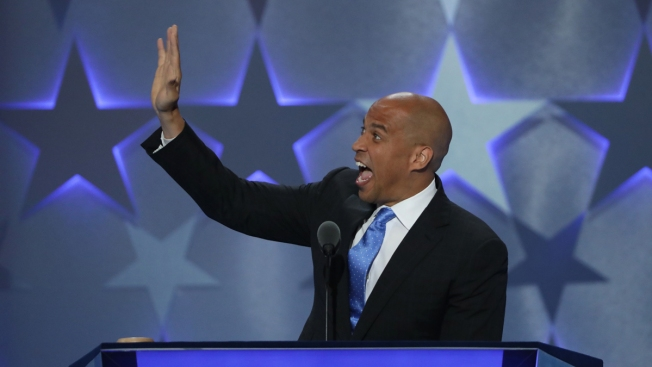 Booker Responds to Trump: 'I Love You, Donald'