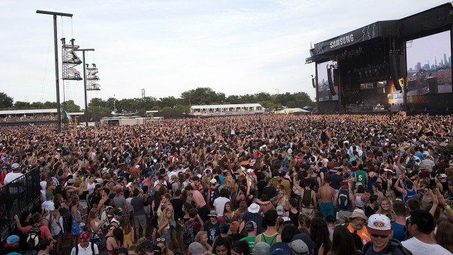 Man Tosses Gun Into Bushes During Chase Near Lollapalooza