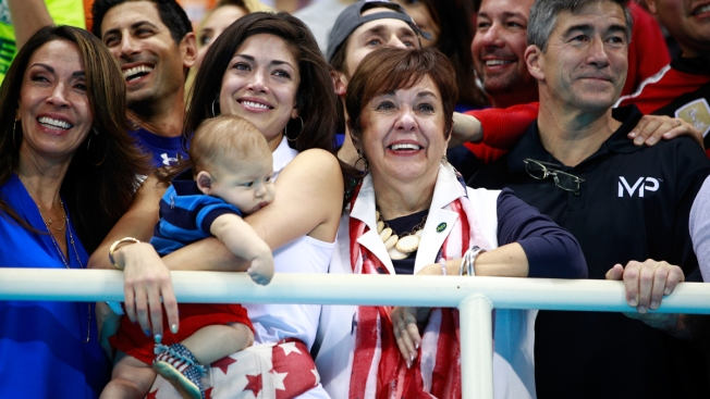 [NATL]Olympic Baby 'Boom': Boomer Phelps' Rio Adventure
