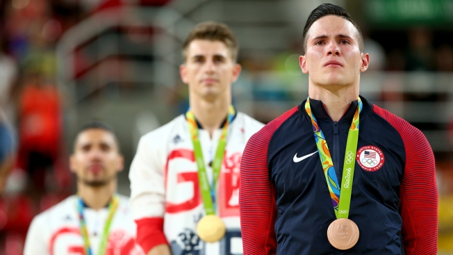 Naddour's Pommel Horse Medal First for U.S. in 32 Years