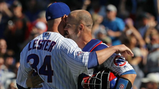 Jon Lester Sends Out Heartfelt Thank You to David Ross