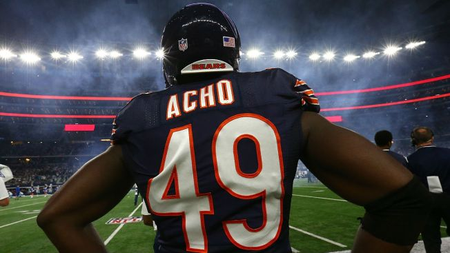 Chicago Bears Re-Sign Sam Acho to 1-Year Contract