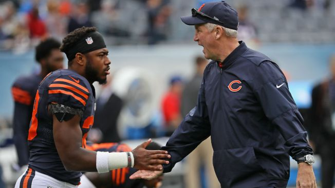Amos, Goldman Miss Practice for Bears Wednesday