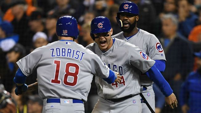 LEADING OFF: Indians go for sweep; Cubs, Dodgers play Game 3