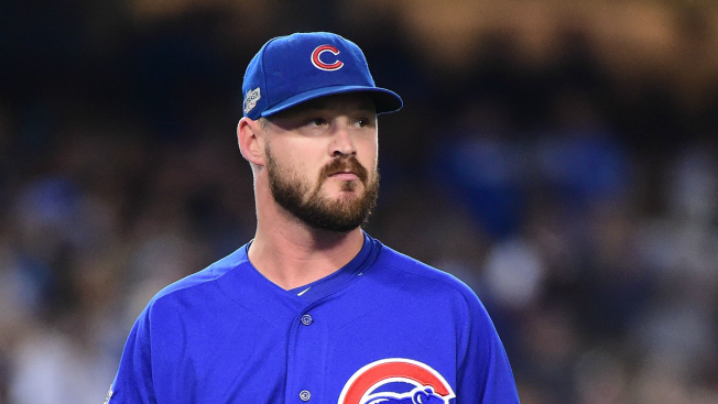Former Cubs Pitcher Travis Wood Suffers Knee Injury