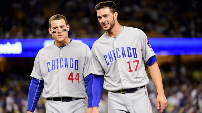 Anthony Rizzo Laughs Off Kris Bryant Trade Rumors