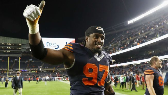 Willie Young to Miss Remainder of Season for Bears, Report Says