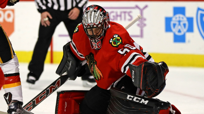 Blackhawks' Corey Crawford Undergoes Emergency Appendectomy