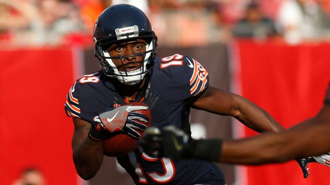 Bears release veteran receiver Royals
