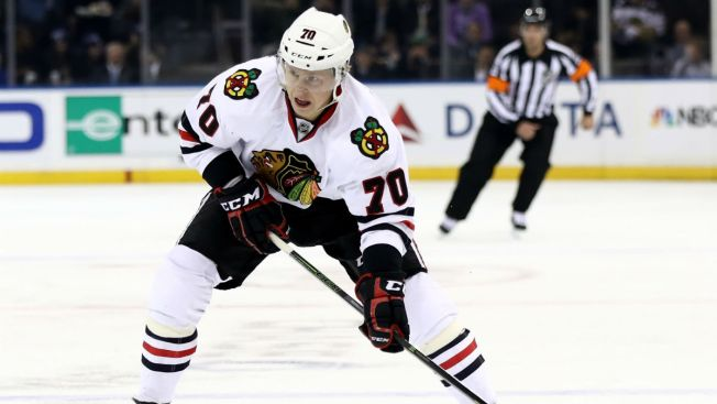 Ducks Sign Former Blackhawks Forward Dennis Rasmussen